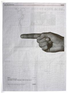 """""""손ㄱ락 하나로 사람을 죽입니다."""" 인터넷 예절 광고 이제석 광고연구소"""