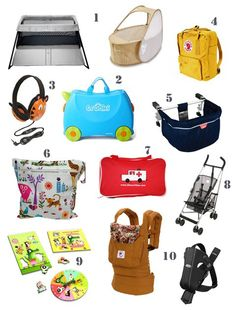 10 handy products for travelling with kids