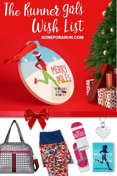 The Runner Girl's Wish List naturally includes all the bets runner gifts from Gone For A Run! With performance, and mositure wicking capris to your new favorite workout bag, FLYTE Bags, you'll be able to find the perfefct running gift for anyone you know! Christmas Themes, Christmas Holidays, Christmas Ornaments, Holiday Decor, Running Gifts, Gifts For Runners, Runner Girl, Tis The Season, Girl Gifts