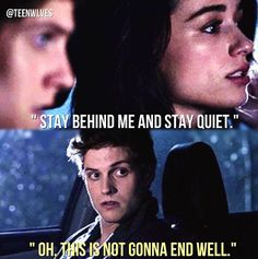 Teen wolf. The girl who knew too much