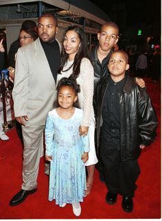 Ice Cube and family