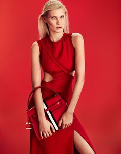 Yulia Terentieva Sees Red In Xavi Gordo Images For Grazia Italy February 9, 2017 — Anne of Carversville  http://www.anneofcarversville.com/style-photos/2017/2/18/yulia-terentieva-sees-red-in-xavi-gordo-images-for-grazia-italy-february-9-2017
