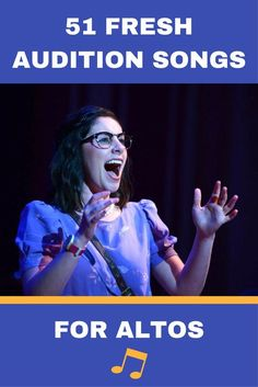 51 Fresh Audition Songs For Altos - Theatre Nerds Musical Theatre Auditions, Singing Auditions, Audition Songs, Audition Monologues, Singing Lessons, Singing Tips, Learn Singing, Vocal Lessons, Music Lessons