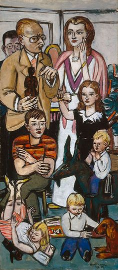 Max Beckmann... One of my faves at IU's art museum