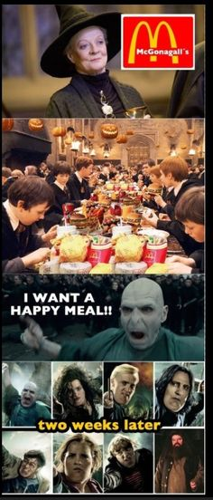 Funny Harry Potter caption pictures