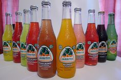 Jarritos, Mexican soda.  (I know where we can buy these in bulk for cheap)