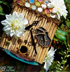 Fairy House from Pixie Hollow at Epcot's Flower & Garden Festival