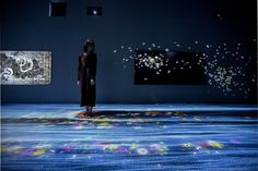 Butterflies flap, a wild ocean rages and a waterfall cascades through the  space in teamLab's digital art exhibition, currently on show at Pace London .  In the mind, there are no boundaries between ideas and concepts, they are  inherently ambiguous and influence and interact with each other. In order  for ideas and concepts to be expressed in the real world it is necessary to  have a physical material substance through which they are mediated.  Boundaries are created when ideas and concepts…