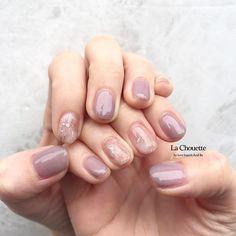Korean Nail Art, Korean Nails, Natural Nail Designs, Gel Nail Designs, Soft Nails, My Nails, Gel French Manicure, Seasonal Nails, Jelly Nails