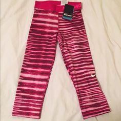 Nike pro NWT Nike pro pink Capri leggings. NWT. Nike Pants Leggings