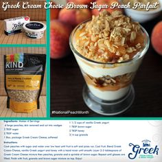 {New Recipe} The #Olympics are heating up, and we've made it easy to lighten up! #KIND Granola #NationalPeachMonth