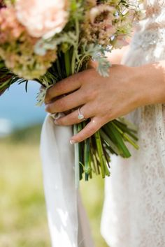 Rustic Oregon wedding: http://www.stylemepretty.com/oregon-weddings/2015/07/21/romantic-intimate-elopement-in-oregon/   Photography: Nikita Lee - http://nikitalee.com/