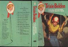 "A first edition of ""Trixie Belden and the Mystery at Bob-White Cave."" There was no 'glossy' version of this book; only the first ten were issued in that series. This was the 'cameo' series, which included the first 13 books (the last three of which were first editions). I always felt sorry for the fish and worms caught in the cave, since they were going to be sold for medical experimentation. Even in the 4th grade I objected to vivisection."