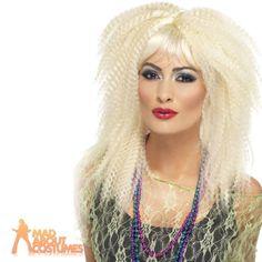 80s-Trademark-Crimp-Wig-Blonde-Ladies-1980s-Fancy-Dress-Costume-Accessory