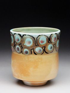 Kathy Phelps salt fired pottery for sale at MudFire Gallery of clay and ceramics in Atlanta, Decatur, GA
