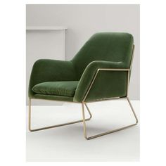 Frame Armchair in Green - FindDesign