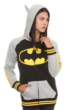 Batman hoodie!