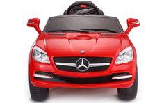 MiPetiteLife.es - Un auto de gran apariencia con licencia Mercedes Benz SLK repleto de características divertidas. Auténtico Mercedes - Este auto es una réplica a tamaño real de un verdadero Mercedes SLK, y tiene licencia de Mercedes. www.MiPetiteLife.es