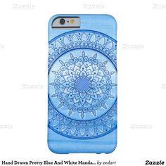 Blue & Cream Mandala iPhone 11 case