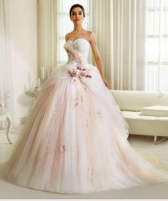 Cinderella Wedding Dress - by Delsa
