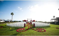 A Red and Black Wedding at Montage Laguna Beach Photographed by Scott A Nelson Photography