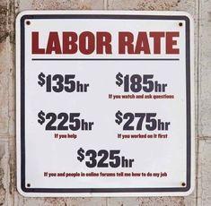 #Car_Memes #Labor_Rate