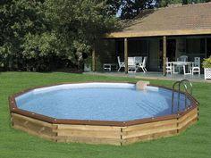 Piscine bois hors sol ma va 500 bois piscine plaisir for Piscine enterrable bois