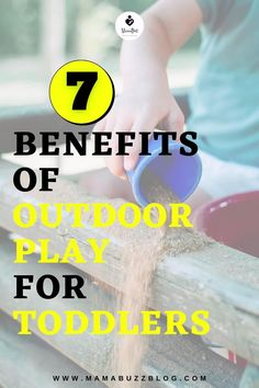 Do you have a toddler and you're facing some challenges on how to engage him for outdoor play? What type of activities do you currently implement in order to build his interests? Check out these Top 7 Benefits of Outdoor Play for Toddlers that will provide opportunities for young children to experience the world with all of their senses. Kings Education, Infant Activities, Activities For Kids, Neurological System, School Leadership, Baby Checklist, Physical Development, Baby Must Haves, Gross Motor Skills