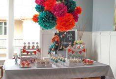 Brave- Merida Birthday Party Ideas | Photo 1 of 14 | Catch My Party