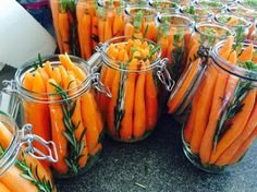 Sárgarépa Healthy Salty Snacks, Canning Pickles, Larder, No Bake Cake, Food Storage, Preserves, Carrots, Lime, Appetizers