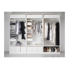 IKEA PAX wardrobe 10 year guarantee. Read about the terms in the guarantee brochure. At Home Furniture Store, Modern Home Furniture, Affordable Furniture, Ikea Pax Wardrobe, Wardrobe Rack, White Wardrobe, Wardrobe Storage, Storage Room, Luminaire Ikea