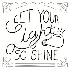 let your light shine free lettering by emberblue on deviantart