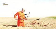 osCurve   Contactos : Prisionero del Estado Islámico cava su propia tumb...