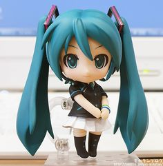 The famous Vocaloid character Hatsune Miku has invaded Family Mart here in Japan! Here's the Nendroid version.Via: mikatan.goodsmile.info/en/2012/08/10/miku-hatsune-happy-lots-a-b-prizes/