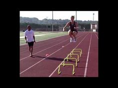 Instructional Training DVD English & Spanish Free Layout Diagram and Jump Rope Six Sided Reaction Ball & Lateral Resistor Ankle Resistance Steppe. Sports Page, Football Drills, Training Kit, Spanish 1, Soccer Quotes, Athlete, Exercises, Legends, High School