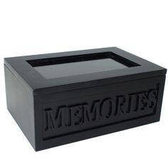 Säilytyslaatikko Memories musta