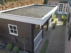 The Firestone RubberCover™ EPDM Roofing System is the ideal, durable solution for a multitude of small residential flat roofing applications: Garden sheds