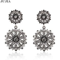 Check out the site: www.nadmart.com   http://www.nadmart.com/products/new-fashion-vintage-earrings-flower-alloy-with-crystal-earrings-for-women-jujia-brand-jewelry-dress-accessories/   Price: $US $3.71 & FREE Shipping Worldwide!   #onlineshopping #nadmartonline #shopnow #shoponline #buynow