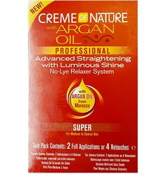 Creme of Nature Argan Oil No-Lye Relaxer Kit Super - 2 Applications  $8.9 Visit www.BarberSalon.com One stop shopping for Professional Barber Supplies, Salon Supplies, Hair & Wigs, Professional Product. GUARANTEE LOW PRICES!!! #barbersupply #barbersupplies #salonsupply #salonsupplies #beautysupply #beautysupplies #barber #salon #hair #wig #deals #sales #CremeofNature   #ArganOil #NoLye   #RelaxerKitSuper