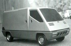 OG | 1980 Renault Master Mk1 | Styling scale clay model designed by Gandini, dated July 1973