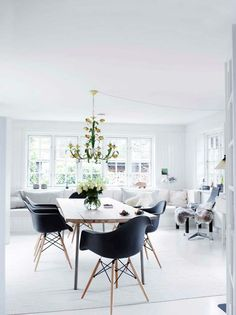 A Scandinavian Farmhouse In Black & White