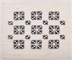 Blue and White Pieced Quilts (6/20/2015 - Americana: Live Salesroom Auction)