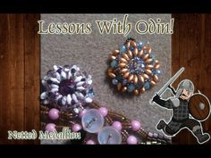 Lessons with Odin: Transition between Netted Rope and Tubular Herringbone Jewelry Tutorial - YouTube