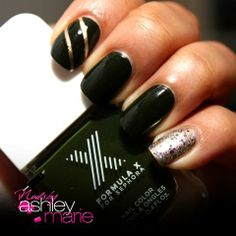 Get the #FormulaX: Gravity, Law of Attraction #nailart #nails #mani #manicure