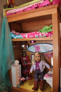 American Girl Doll Play: A Look at Lily's Doll Room
