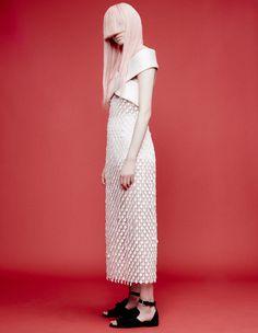 How to Wear White Dresses, Starring Fernanda Ly - fernanda-ly-hair-Wmag