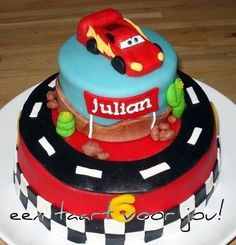 Disney Cars Cake... lots of cake ideas