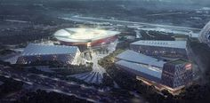 Suzhou Industrial Park Sports Center | NBBJ | Suzhou, China | DesignDaily