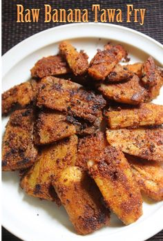 This is a quick and easy sidedish you could make with raw banana, It taste really delicious, it turns crispy and taste amazing with pl. Banana Recipes Indian, Indian Veg Recipes, Cabbage Recipes Indian, Indian Snacks, Indian Foods, Indian Dishes, Jain Recipes, Curry Recipes, Kerala Recipes
