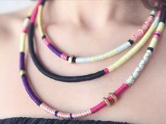 How-to: Tribal Necklace by Ari of Boat People - YouTube